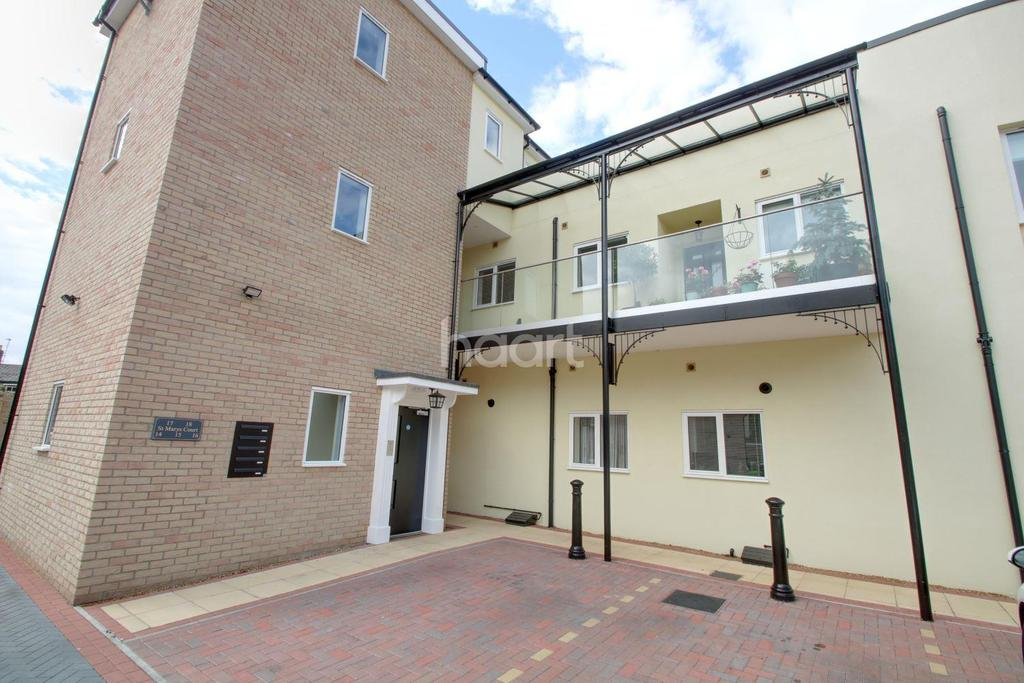 3 Bedrooms Flat for sale in St Marys Court, Ely