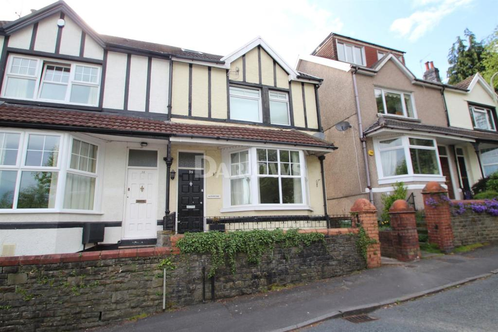 3 Bedrooms Semi Detached House for sale in Lan park road, Graigwen