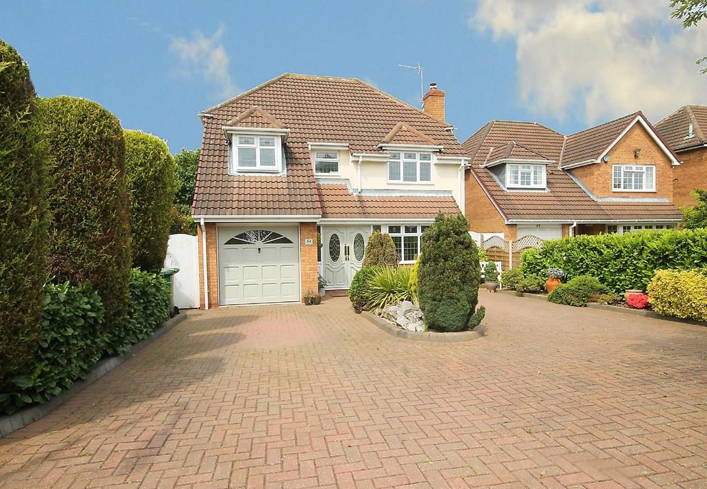 4 Bedrooms Detached House for sale in County Drive, Fazeley, Tamworth, B78 3XF