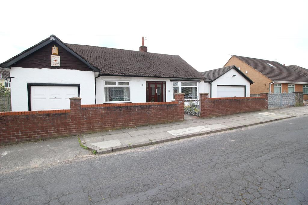 2 Bedrooms Detached Bungalow for sale in Darley Drive, Liverpool, Merseyside, L12