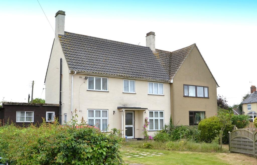 3 Bedrooms Semi Detached House for sale in Stutton Close, Stutton, Ipswich, Suffolk