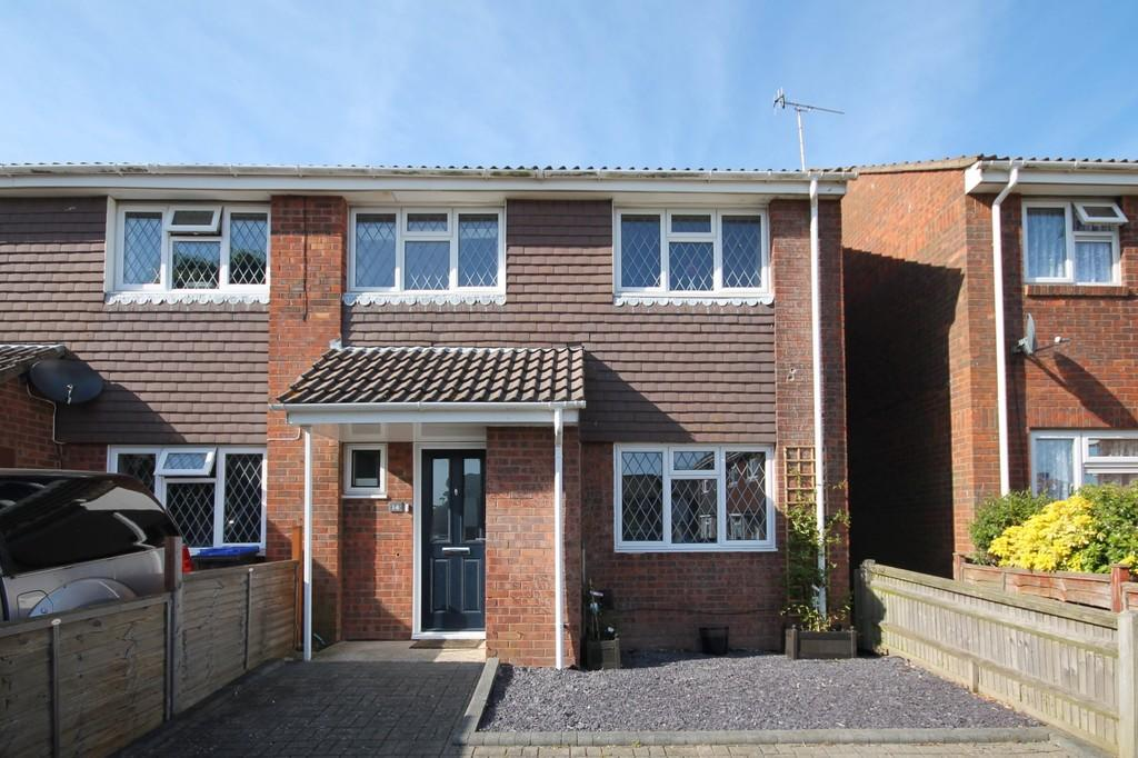 3 Bedrooms End Of Terrace House for sale in Elizabeth Place, Sompting, Lancing, BN15 9UJ
