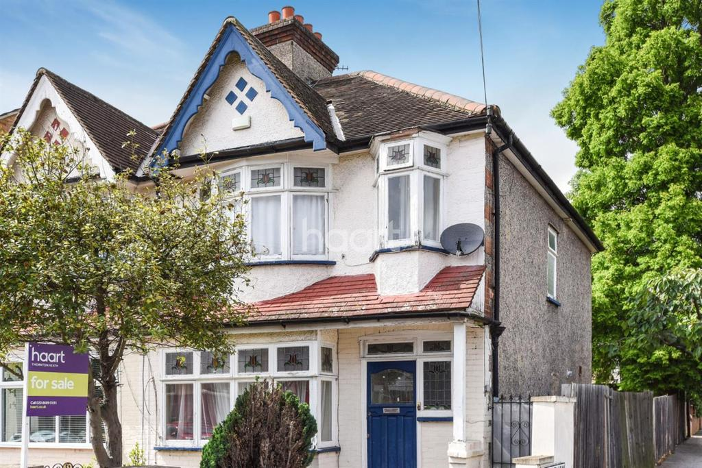 3 Bedrooms End Of Terrace House for sale in Woodville Road, Thornton Heath, CR7