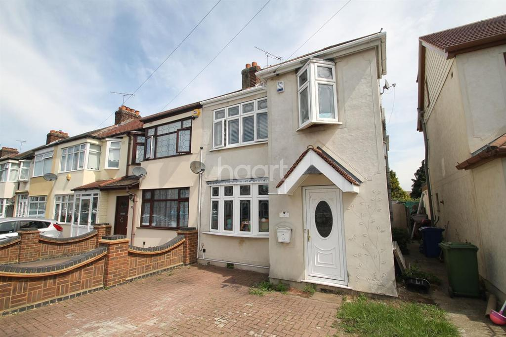 4 Bedrooms End Of Terrace House for sale in Grove Park Road, South Hornchurch