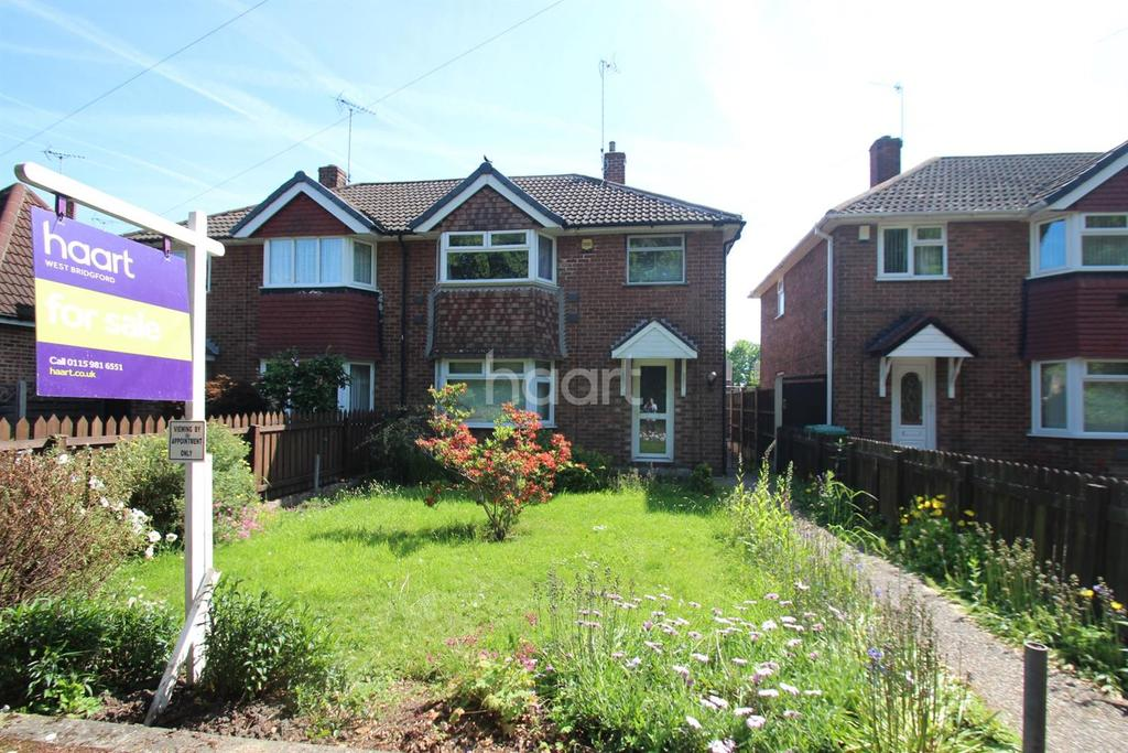3 Bedrooms Semi Detached House for sale in Launceston Crescent, Wilford, Nottinghamshire