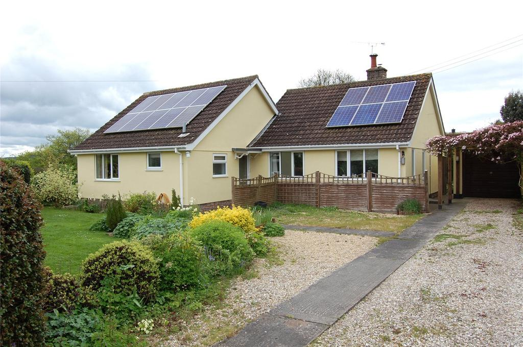 3 Bedrooms Detached Bungalow for sale in Crowcombe, Taunton, Somerset, TA4