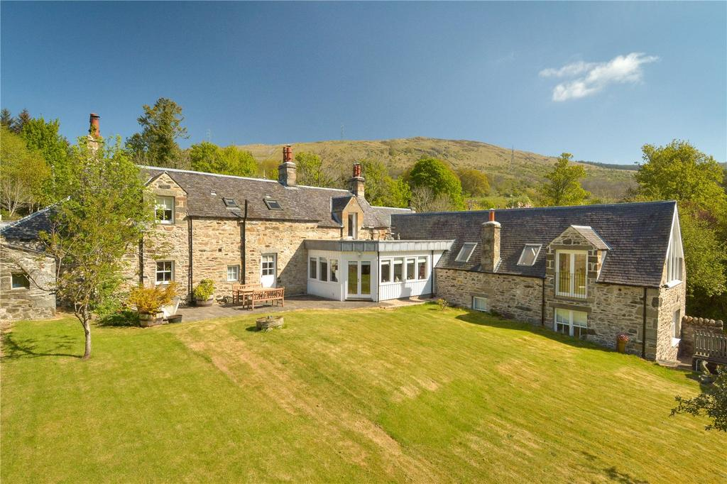 4 Bedrooms Detached House for sale in Mill House, Keltneyburn, Aberfeldy, Perthshire, PH15