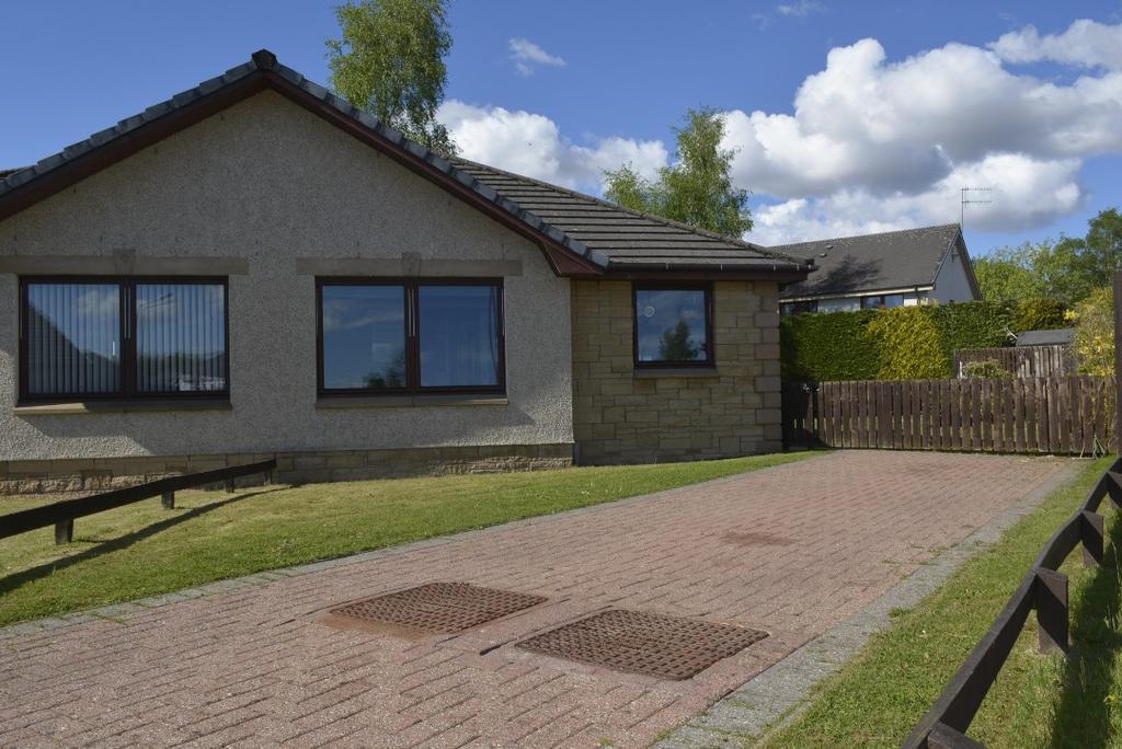 2 Bedrooms Semi Detached House for sale in Gullipen View, Callander , Stirling, FK17 8HN