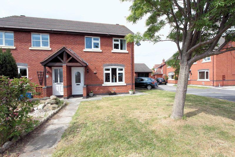 3 Bedrooms Semi Detached House for sale in Roseview Crescent, Kinmel Bay