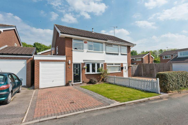 3 Bedrooms Semi Detached House for sale in Troutbeck Close, Beechwood, Runcorn