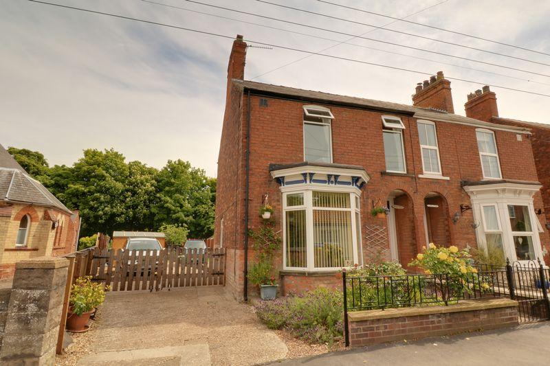 3 Bedrooms Semi Detached House for sale in Chapel Street, Goxhill