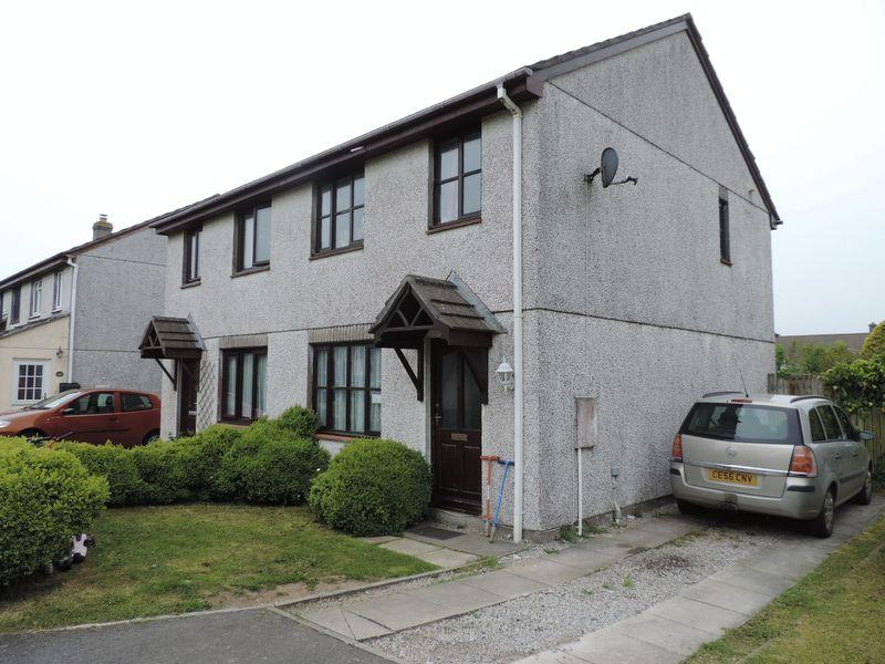3 Bedrooms Semi Detached House for sale in Mount Hawke, Nr. Truro