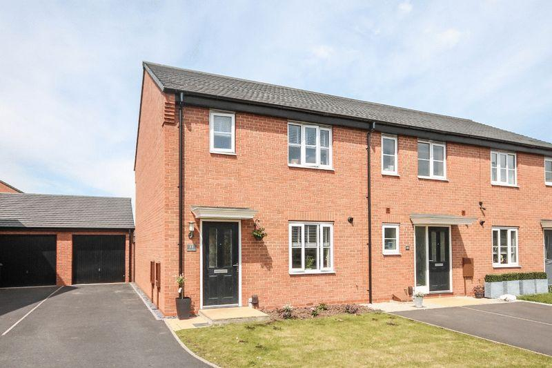 3 Bedrooms End Of Terrace House for sale in LEVETTS CLOSE, STENSON FIELDS