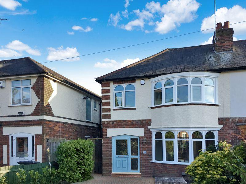 3 Bedrooms Semi Detached House for sale in Knighton Lane East, Leicester