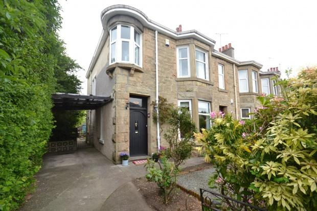 3 Bedrooms End Of Terrace House for sale in Auldhouse Road, Newlands, G43