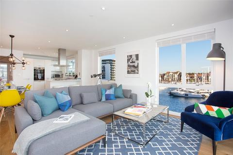 3 bedroom flat for sale - Unit 112 Alexandra Wharf, 2 Maritime Walk, Ocean Village, Southampton, SO14