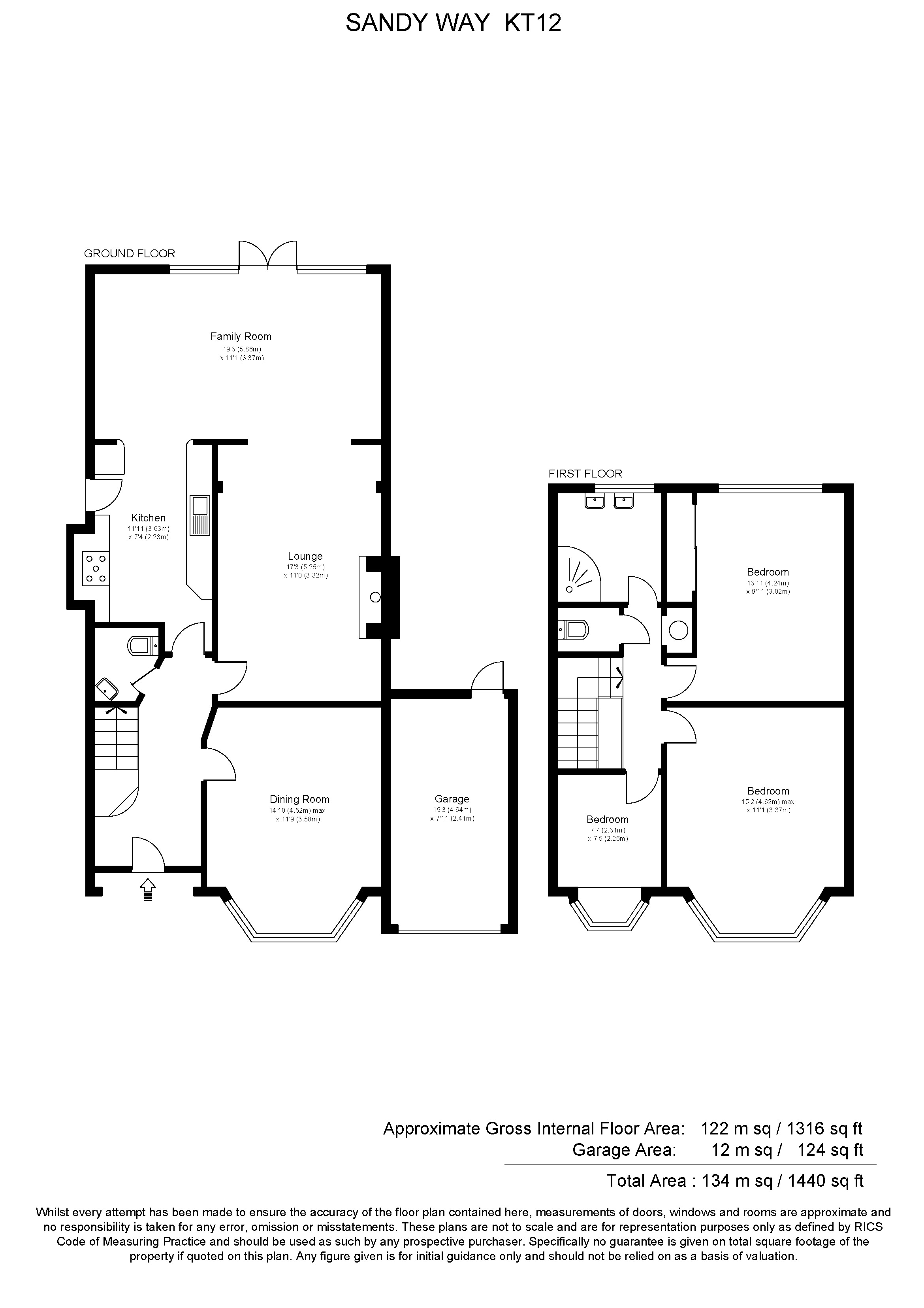 The Waltons House Floor Plan