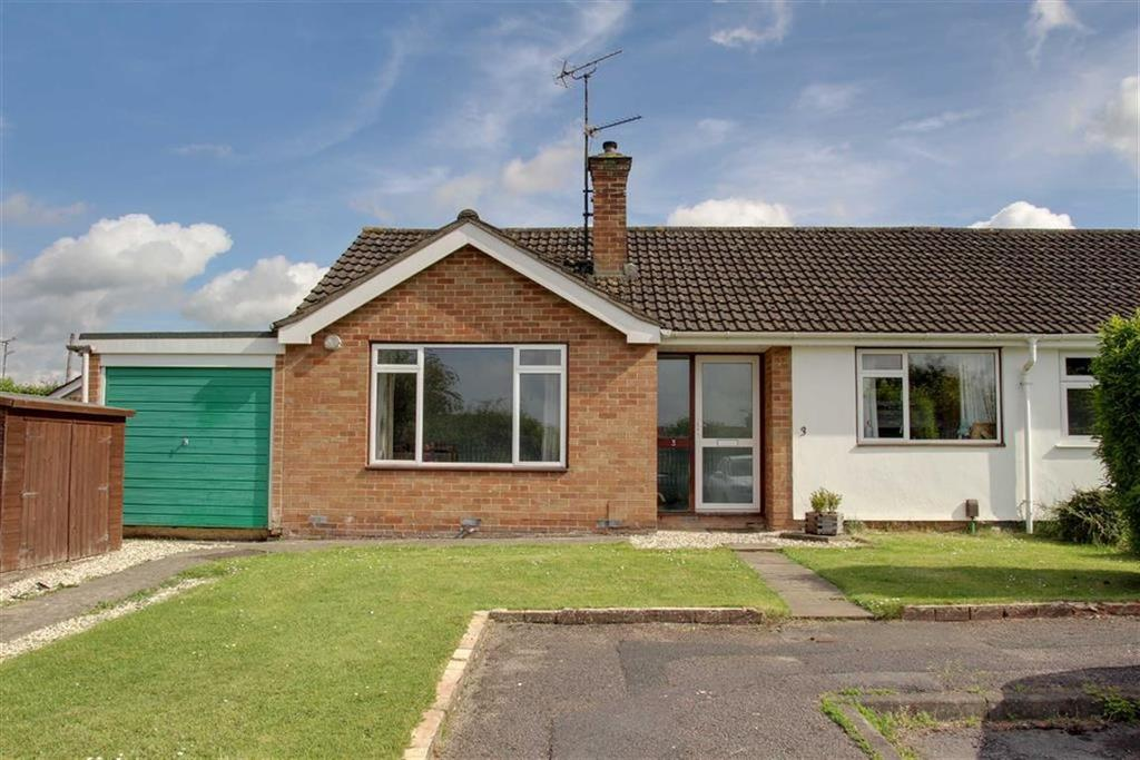2 Bedrooms Semi Detached Bungalow for sale in Heron Close, Cheltenham, Gloucestershire