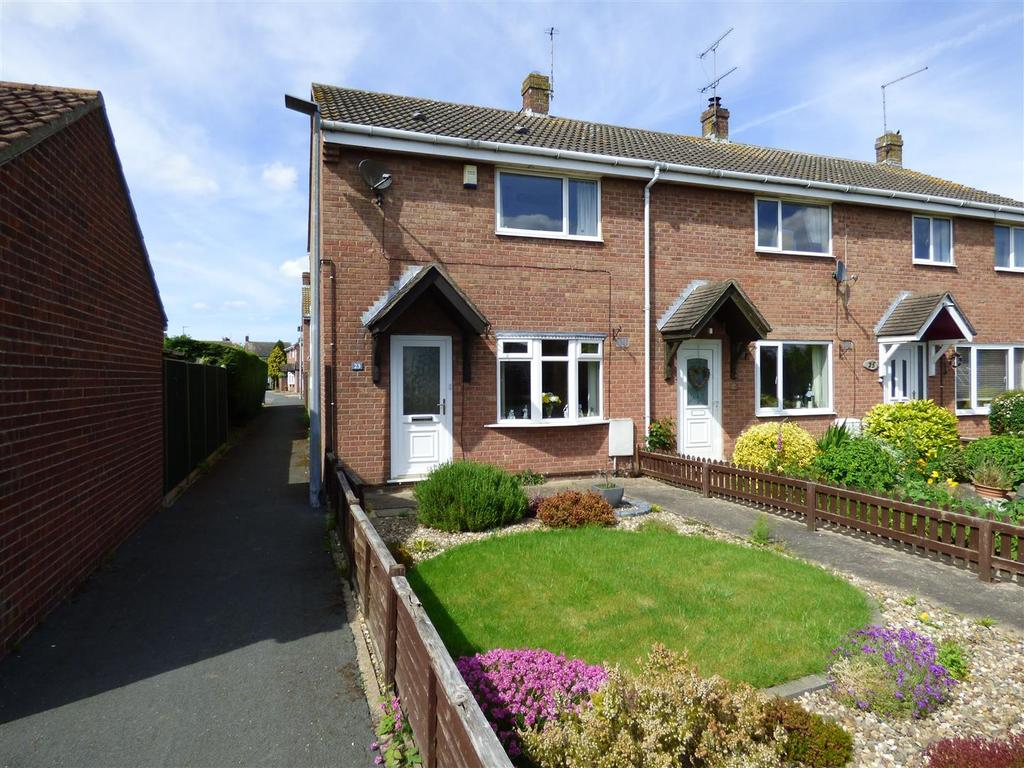 2 Bedrooms Semi Detached House for sale in 23 Green Lane, Tickton, Beverley, East Yorkshire, HU17 9RH