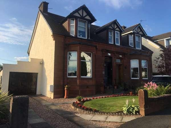 3 Bedrooms Semi-detached Villa House for sale in 1 Anniesdale Avenue, Stepps, North Lanarkshire, G33 6DR