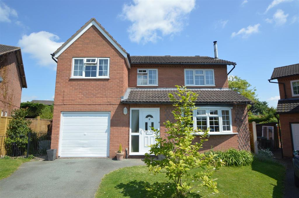 4 Bedrooms Detached House for sale in 8 Foxley Grove, Bicton Heath, Shrewsbury, SY3 5DF