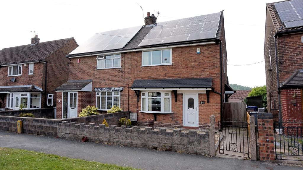 2 Bedrooms Semi Detached House for sale in Kingswinford Place, Stoke On Trent, Staffs