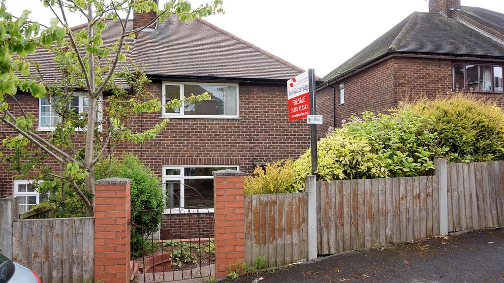 3 Bedrooms Semi Detached House for sale in Tennant Place, Porthill, Newcastle, Staffs