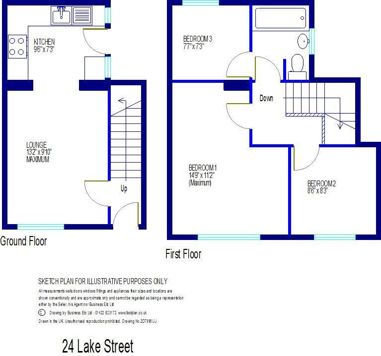 Lake street dartmouth 3 bed house for sale 214 995 for Dartmouth floor plans