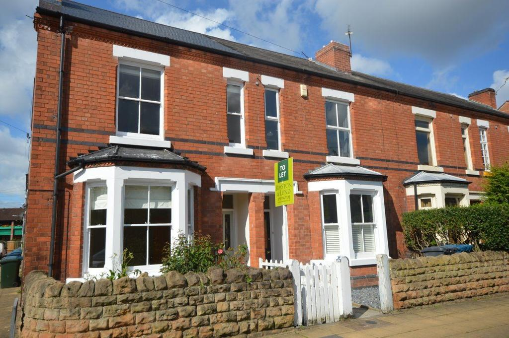 3 Bedrooms Terraced House for rent in Highfield Road, West Bridgford