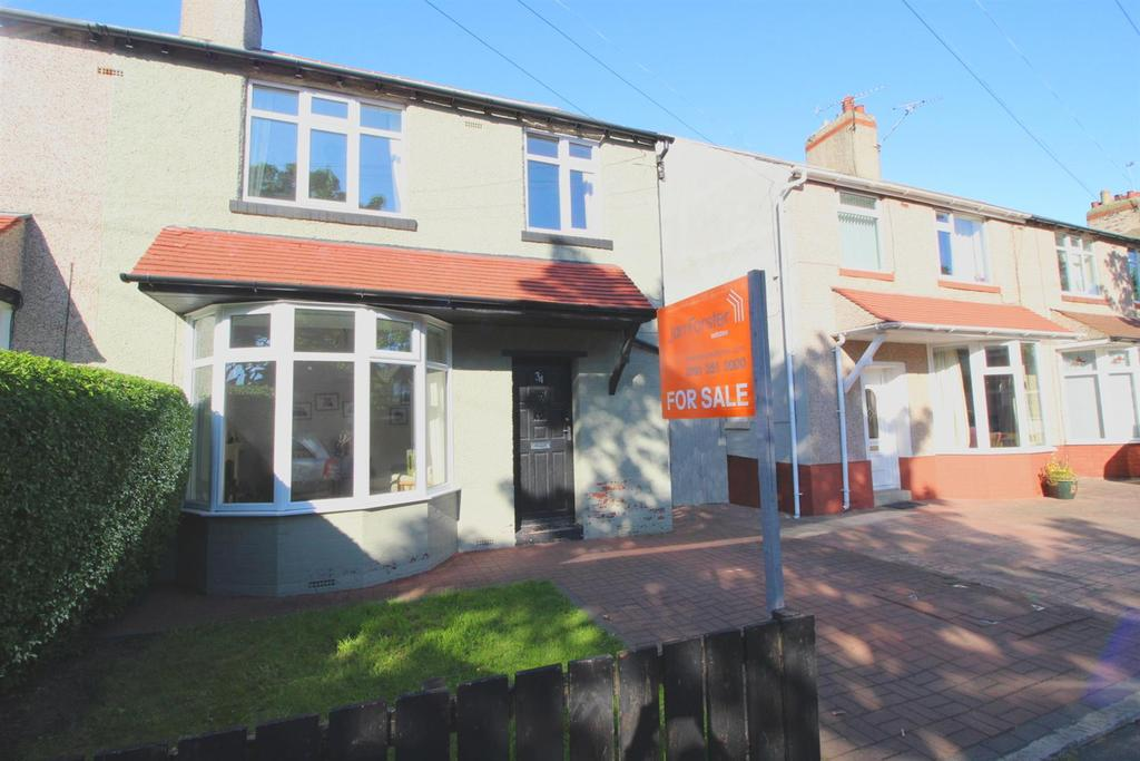 3 Bedrooms Semi Detached House for sale in Hillfield, Whitley Bay