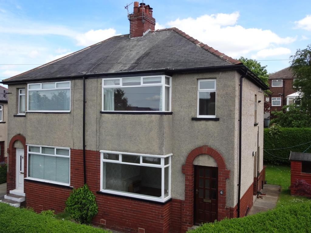 3 Bedrooms Semi Detached House for sale in Park View Avenue, Rawdon, Leeds