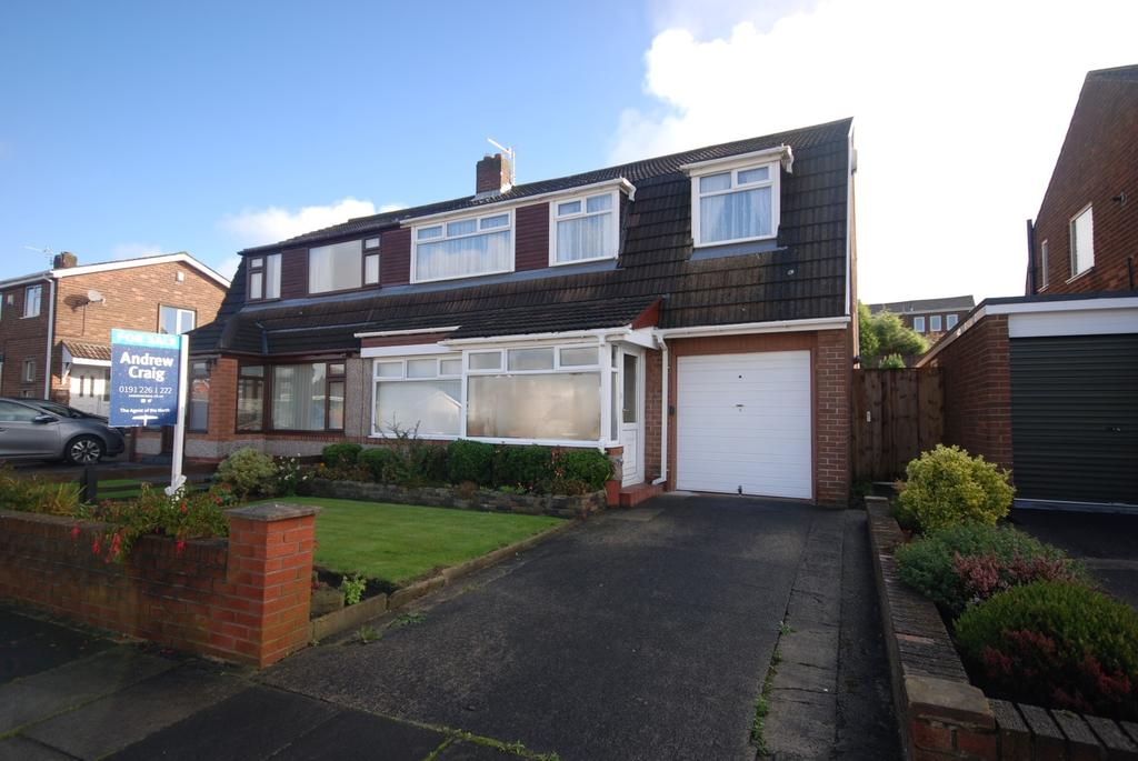 4 Bedrooms Semi Detached House for sale in Thirlmere, Birtley