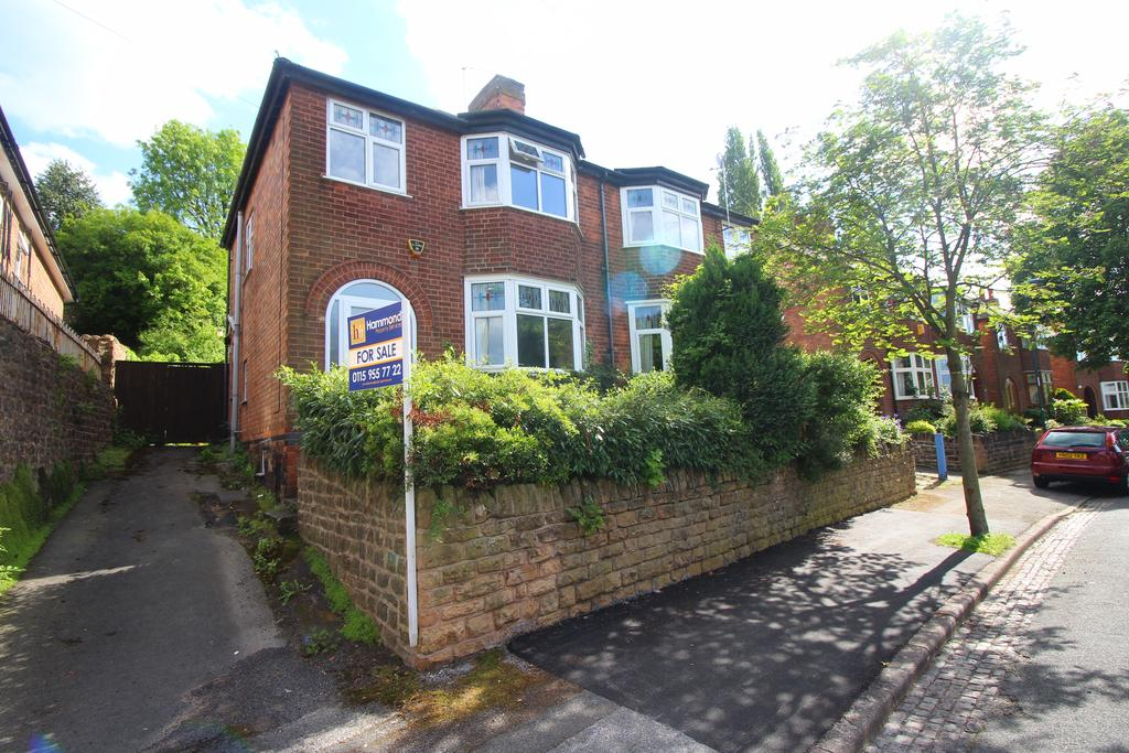 3 Bedrooms Semi Detached House for sale in DEVONSHIRE CRESCENT, Sherwood, Nottingham NG5