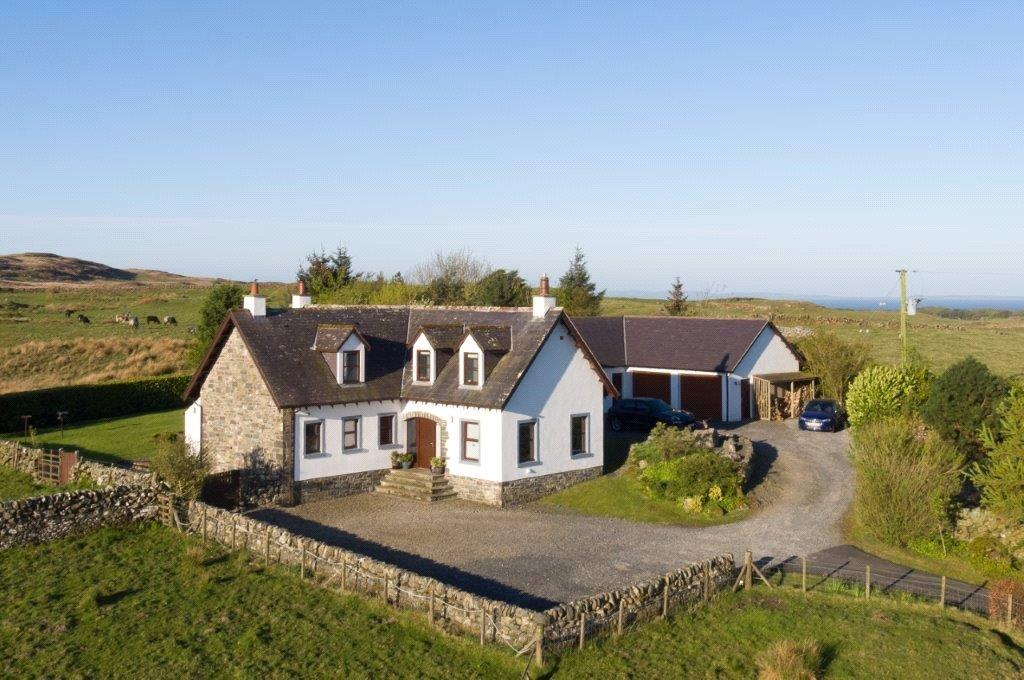 4 Bedrooms Detached House for sale in The Brae, Port William, Newton Stewart, Dumfries and Galloway, DG8