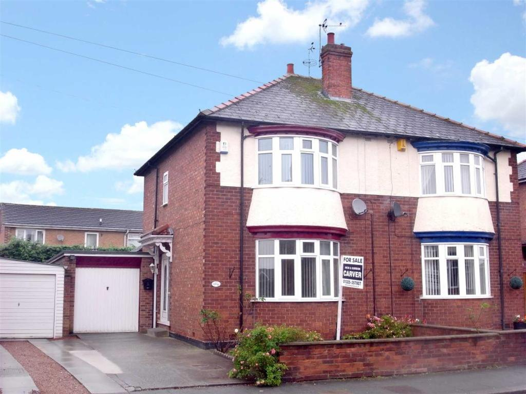 3 Bedrooms Semi Detached House for sale in Starmer Crescent, Darlington