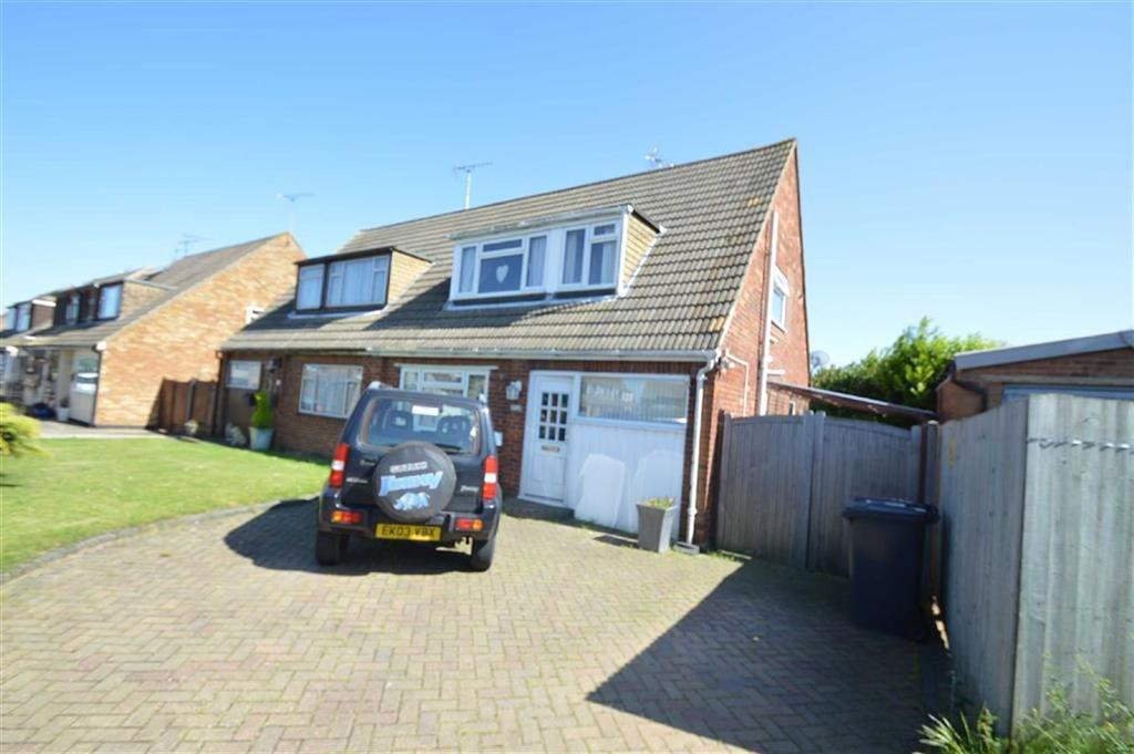 3 Bedrooms Semi Detached House for sale in Newton Hall Gardens, Ashingdon, Essex
