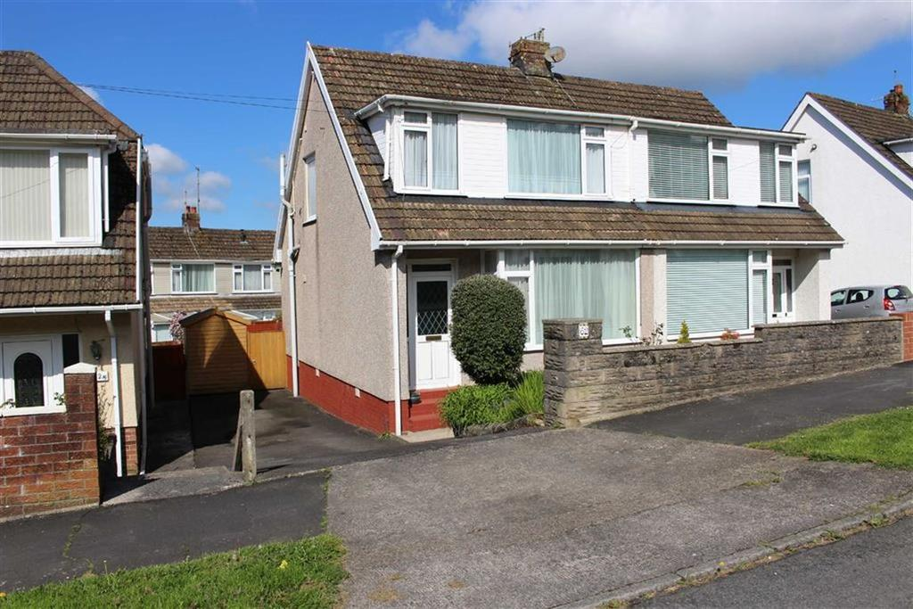 3 Bedrooms Semi Detached Bungalow for sale in Woodcote, Killay