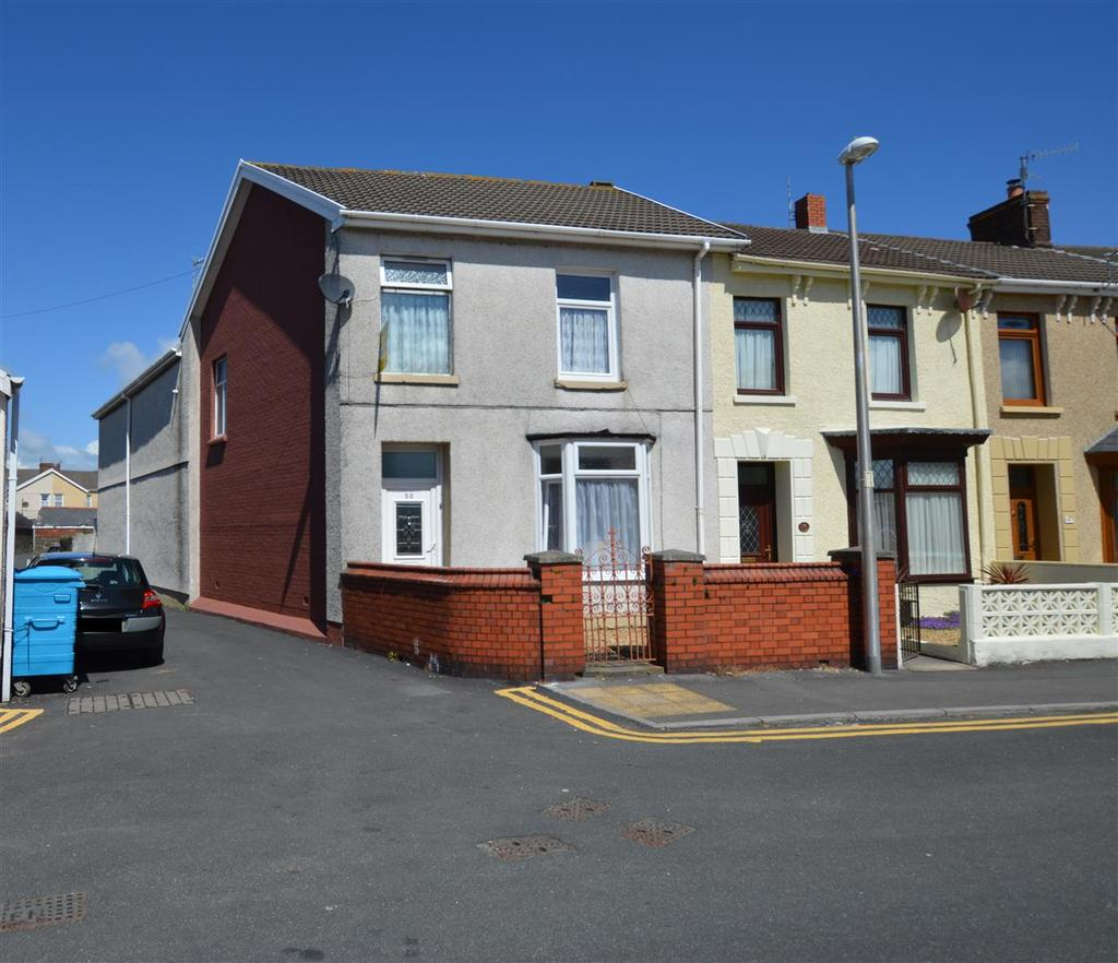 4 Bedrooms End Of Terrace House for sale in Lakefield Road, Llanelli