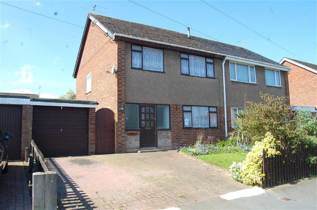 3 Bedrooms Semi Detached House for sale in Bridge Meadow, Great Sutton, Ellesmere Port