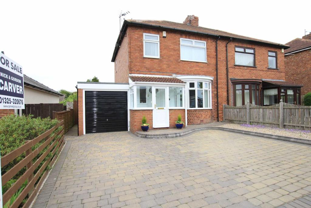 3 Bedrooms Semi Detached House for sale in West Auckland Road, Shildon