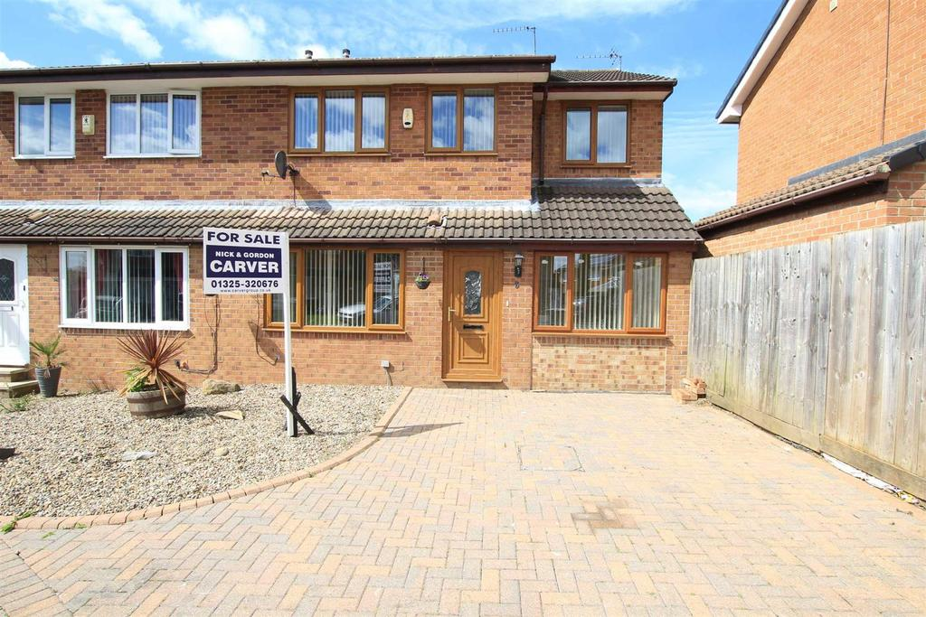 4 Bedrooms Semi Detached House for sale in Raby Drive, Woodham, Newton Aycliffe