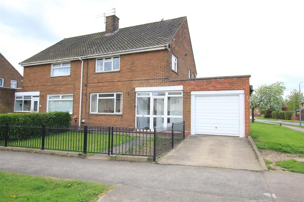 3 Bedrooms Semi Detached House for sale in Macmillan Road, Newton Aycliffe