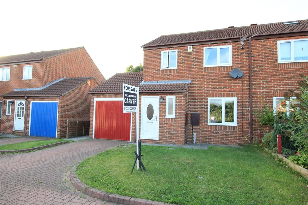 3 Bedrooms Semi Detached House for sale in Heatherburn Court, Woodham, Newton Aycliffe