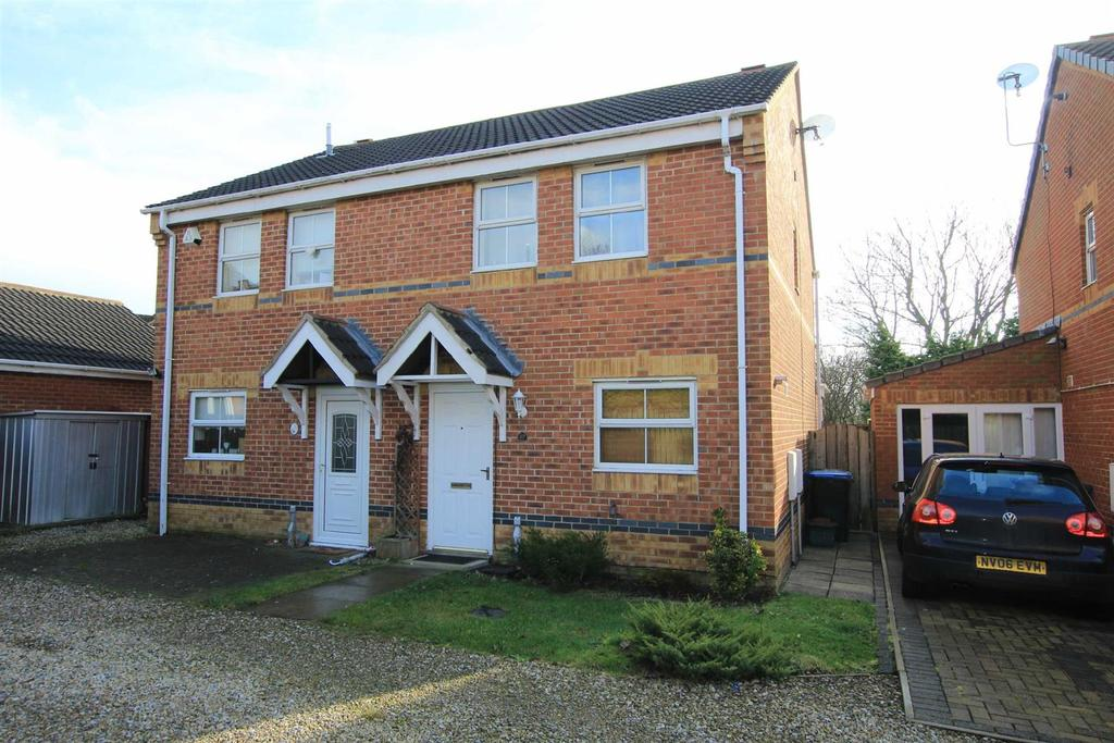 3 Bedrooms Semi Detached House for sale in Kestrel Court, Newton Aycliffe