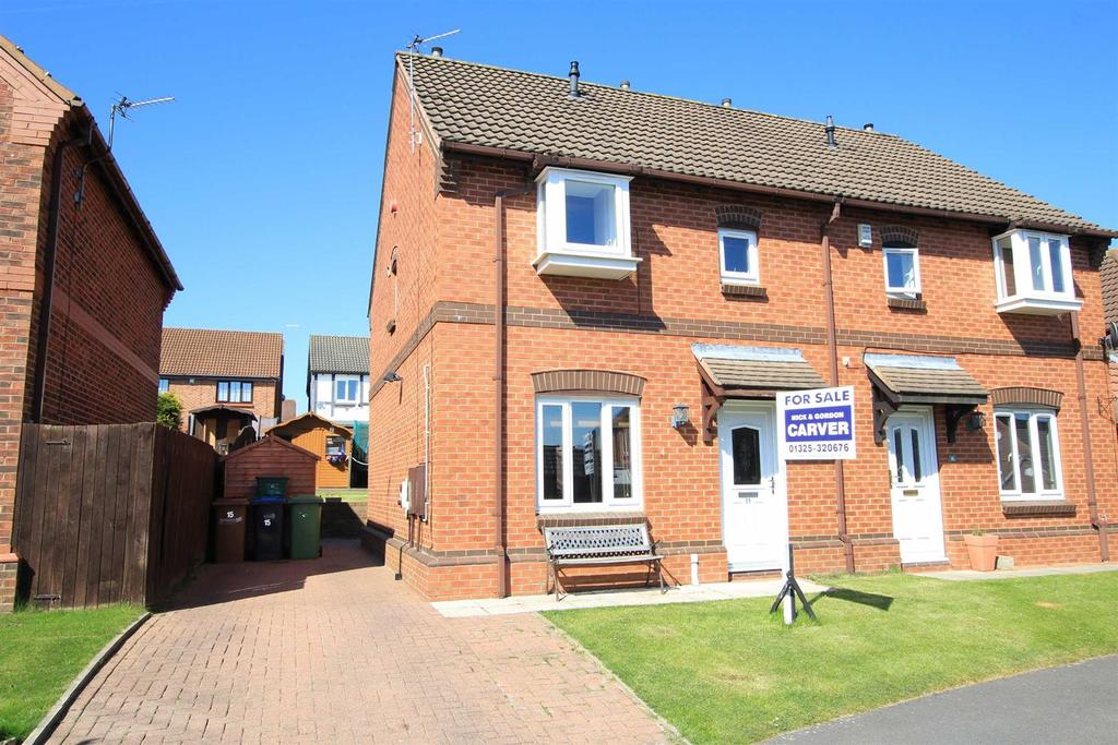 3 Bedrooms Semi Detached House for sale in Colwell Court, Newton Aycliffe