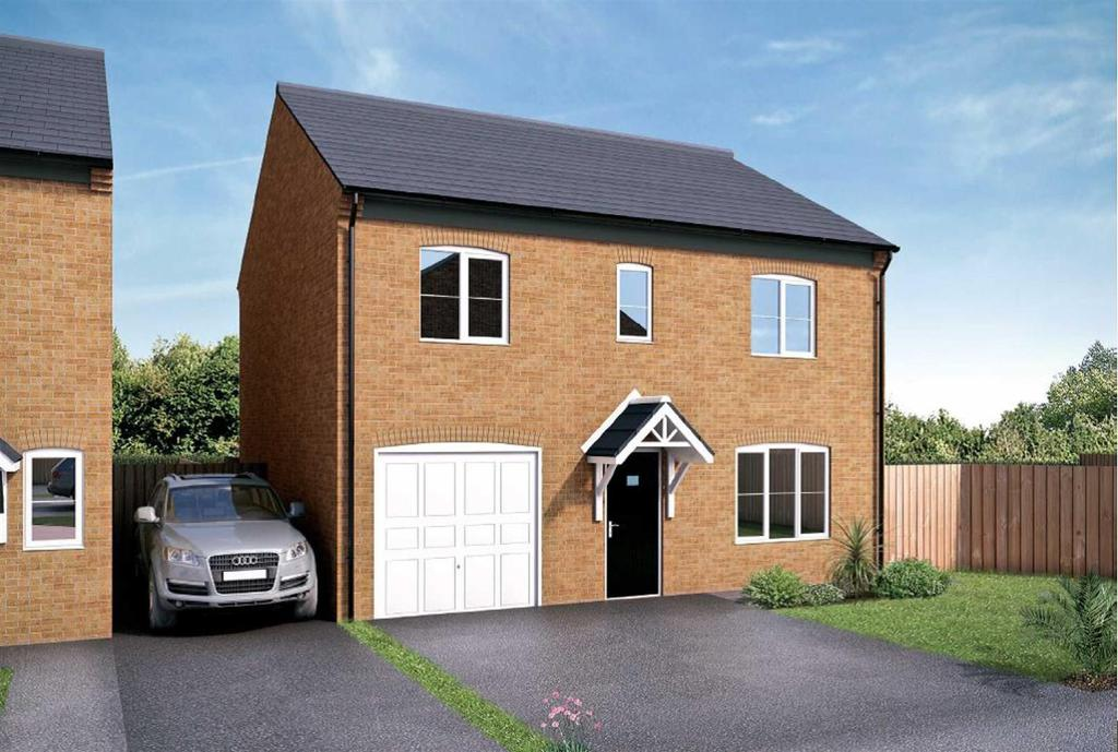 4 Bedrooms Detached House for sale in Beckfield, Colburn, Catterick Garrison