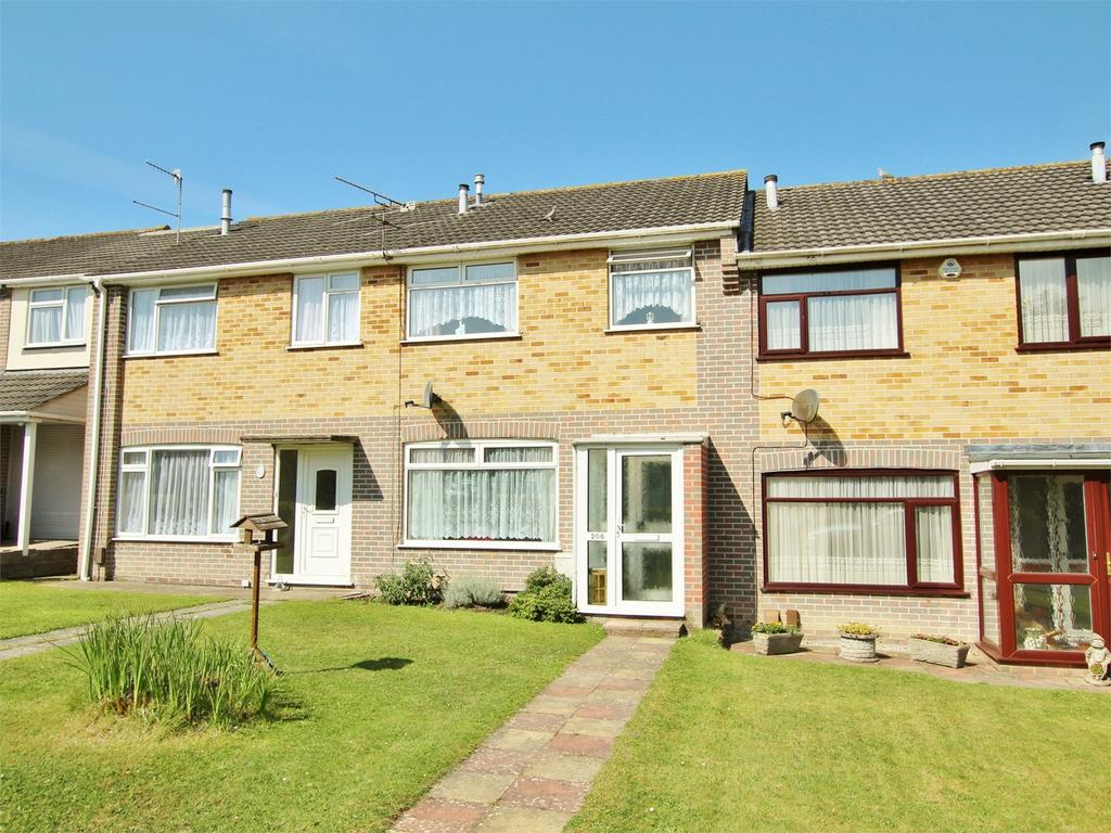 3 Bedrooms Terraced House for sale in Freshwater Drive, Hamworthy, POOLE, Dorset