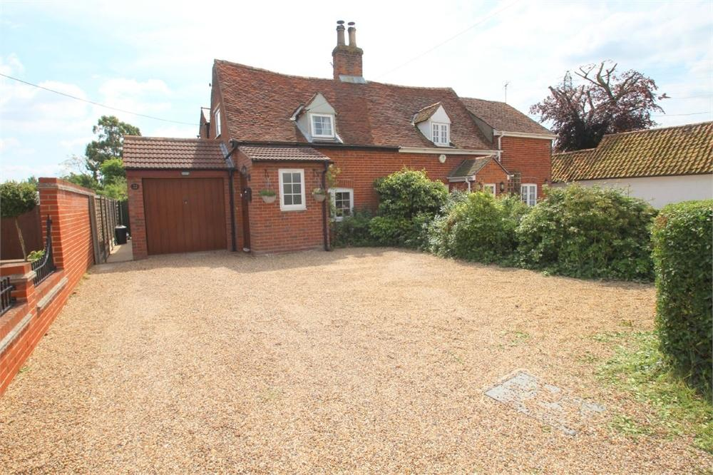 3 Bedrooms Cottage House for sale in Elmstead Road, Wivenhoe, COLCHESTER, Essex