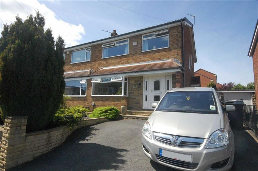 3 Bedrooms Semi Detached House for sale in Sunnybank Walk, Mirfield, WF14