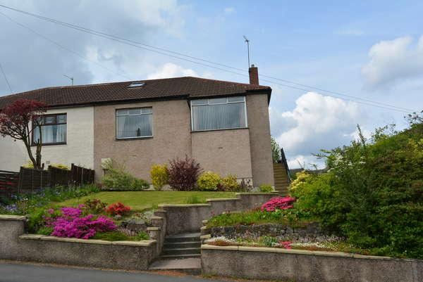 2 Bedrooms Semi Detached Bungalow for sale in 66 Crowhill Road, Bishopbriggs, Glasgow, G64 1RN